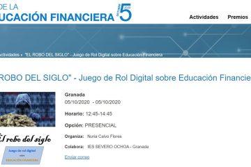 Nuestro juego de rol digital de finanzas es validado por el Banco de España