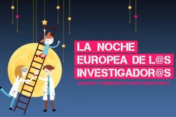 La noche del 24/09/2021, noche europea de l@s investigador@s